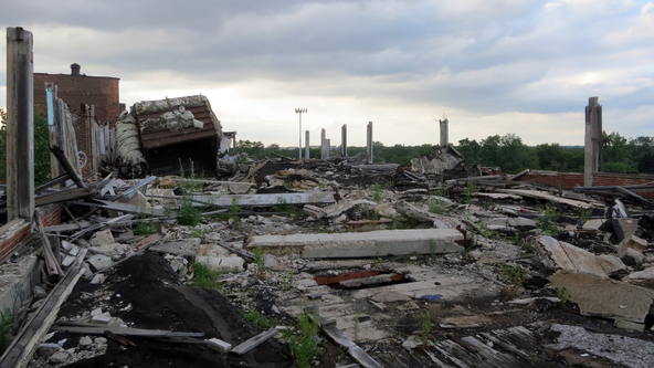 Packard Automotive Plant, Detroit