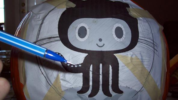 GitHub Squid Cat